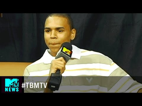 Chris Brown at His First VMA in 2005 | #TBMTV