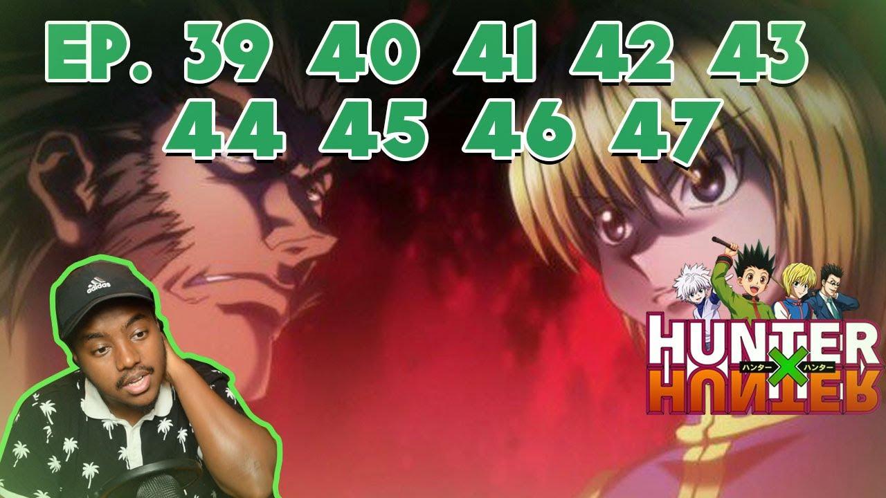 Kurapika Vs Uvogin Hunter X Hunter Episode 39 40 41 42 43 44 45 46 47 Reaction Youtube