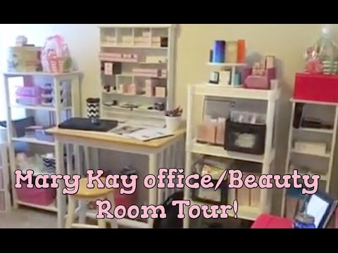 Mary Kay inventory organization & office/beauty room tour