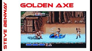 Golden Axe on Amiga. Gameplay & Commentary