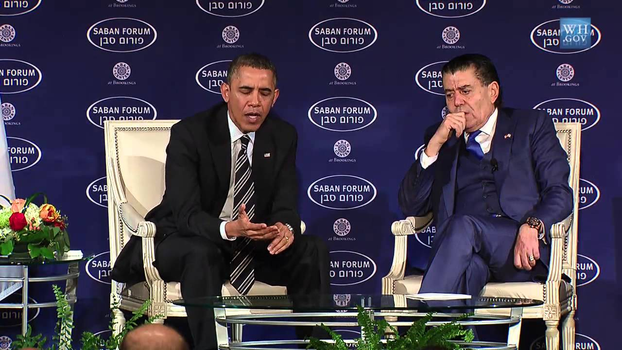 Obama Defends Iran Deal At Saban Forum - YouTube