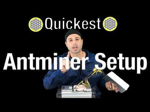 Unboxing New 2018 Bitmain Antminer S9 Setup APW3++ Power Supply - Antminer V9 - Antminer L3+ T9-D3