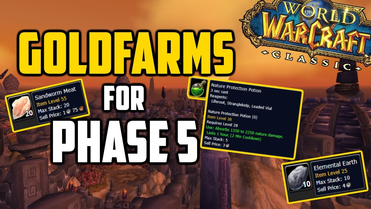 List Of Items To Buy To Make Profit In Classic Wow Youtube