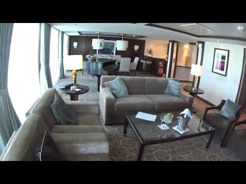 Celebrity Reflection Penthouse Suite Tour in 1080p