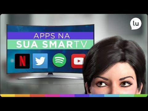 Como baixar apps na Smart TV | Canal da Lu - Magalu