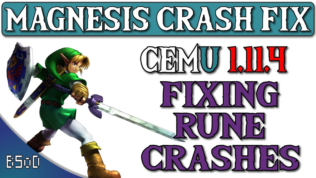 Cemu 1 11 4 | Magnesis Crash Fix | Zelda BOTW