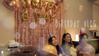 [승무원_vlog]외항사 승무원들의 방구석 생일파티 |…