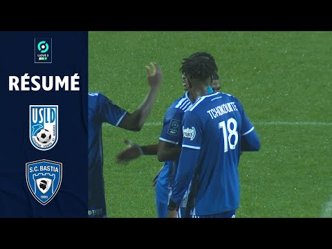 Dunkerque CA Bastia Goals And Highlights