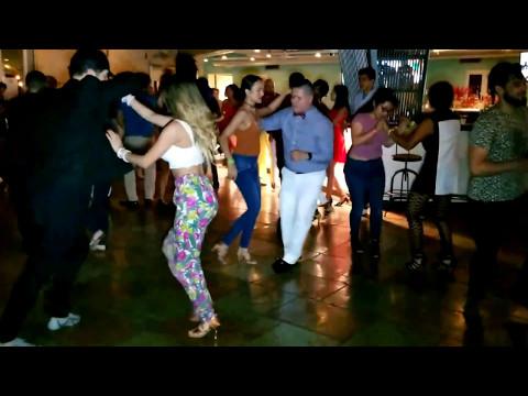 Selene Tovar & Lawrence Garcia, Social Dancing @ Latin Addiction