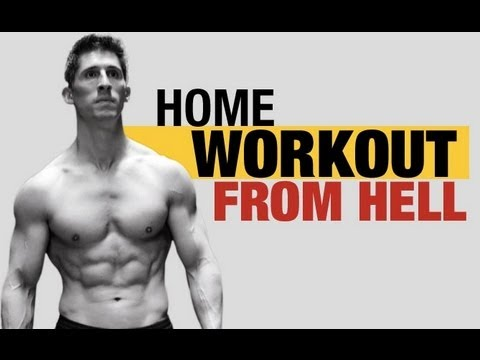 home workout from hell  5 killer home exercises   youtube