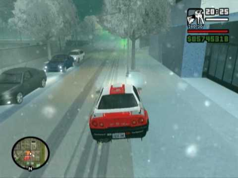 gta snow free  game