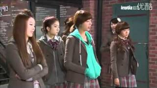 110228 Dream High ep 16 Yoon Baek Hee Cut with Dalshabet Cameo