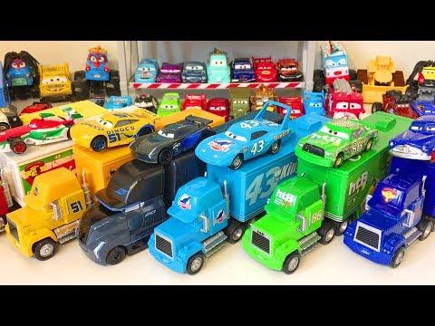 Тачки Дисней Игрушки Новые Трейлеры Грузовики Распаковка Мультики про Машинки Видео для Детей