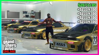 Super Easy $2,000,000 Every 30 Seconds In GTA 5 Solo Money Glitch.. (unlimited money)