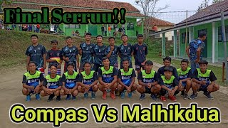 FINAL SERU!! COMPAS VS MALHIKDUA-Tournament Bola Voli U-18