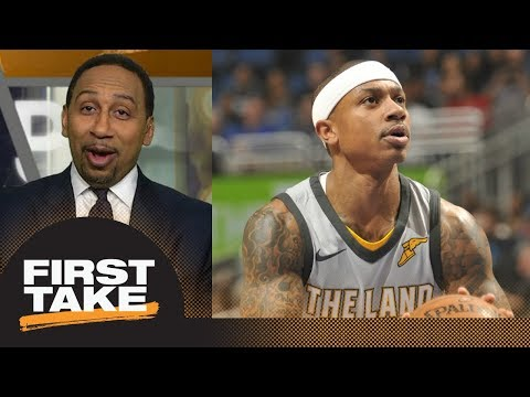 Stephen A. Smith: Cavaliers could tank against Raptors to avoid playing Celtics | First Take | ESPN