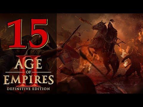 Прохождение Age Of Empires 2: Definitive Edition #15 - Стены Константинополя [Аттила - Завоеватели]