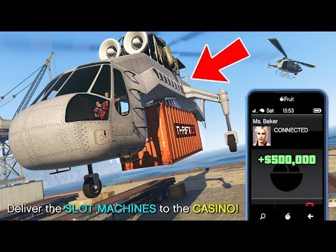 GTA 5 Casino DLC! NEW Casino Missions And Making Money!! (GTA 5 Casino DLC Missions)
