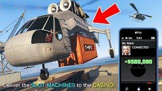 GTA 5 Casino DLC! NEW Casino Missions and Making Money!! (GTA 5 Casino DLC Missions)