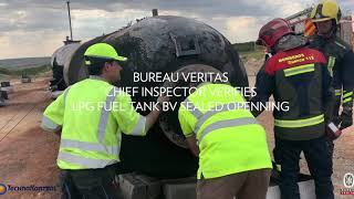 BLEVE & EXPLOSION TK3D TECHNICAL TEST LPG - 21000 LITRES VOL