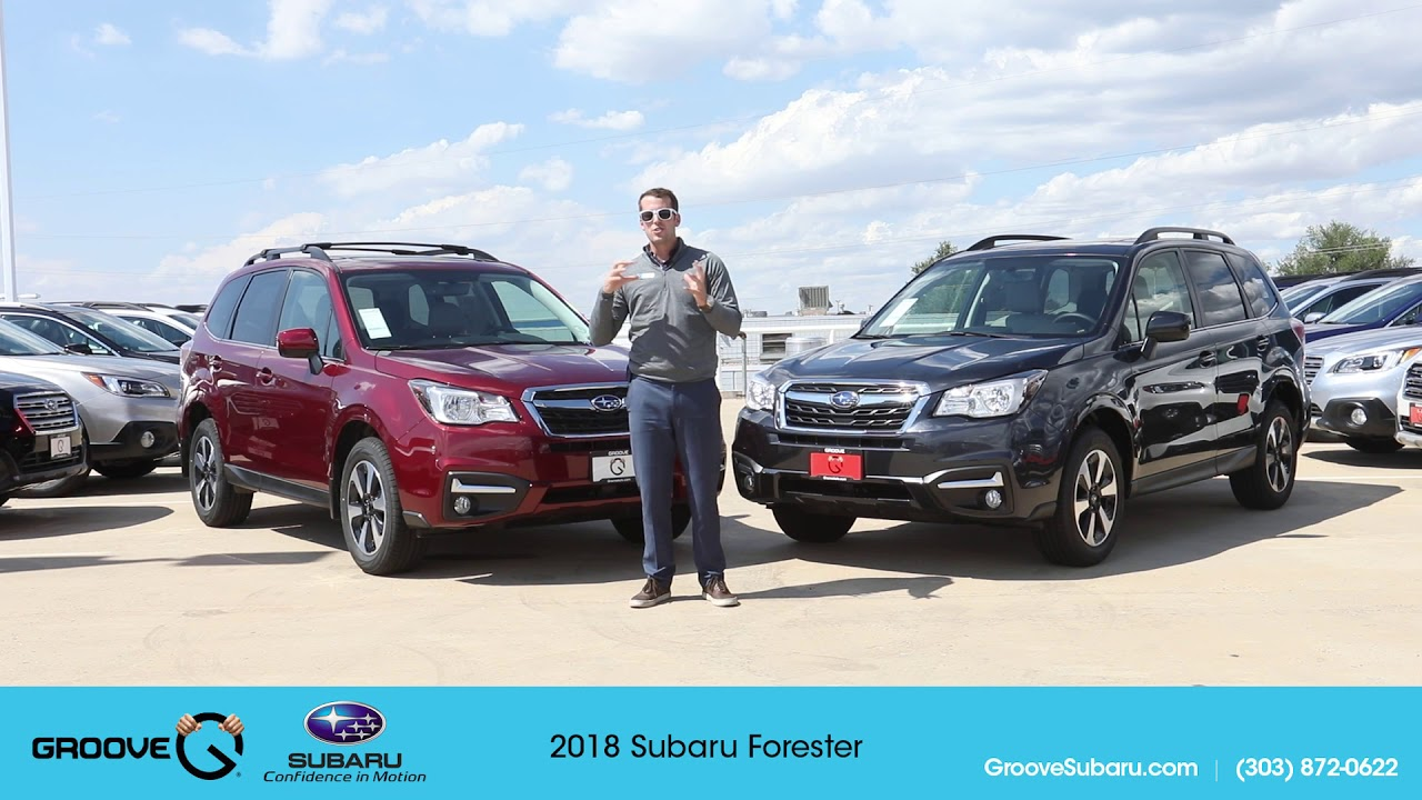 2017 Vs 2018 Subaru Forester What S The Difference
