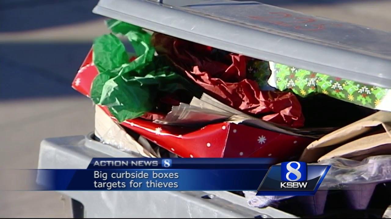 Santa Cruz Sheriff decoy packages deter 'porch pirates'