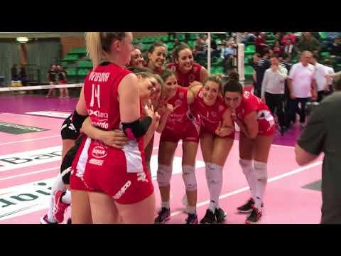 Volley, A2 femminile: Cuneo-Club Italia Crai 3-0, l'ultimo punto del match