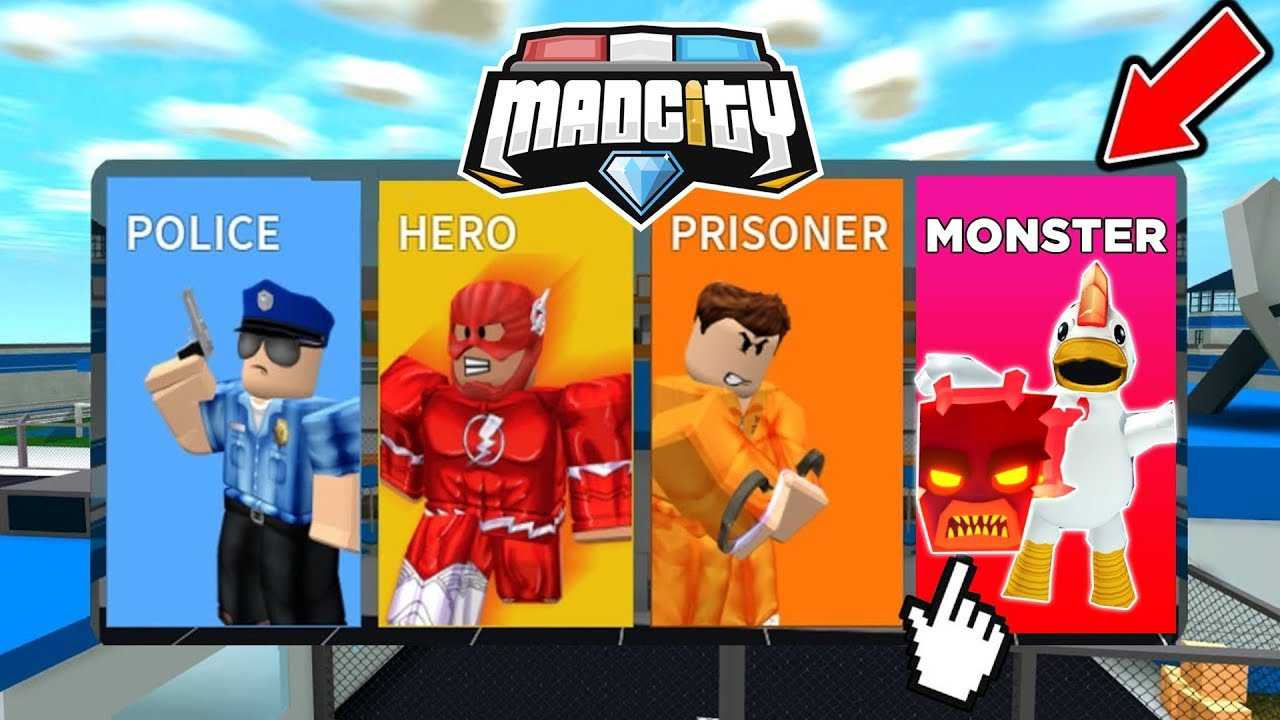 Roblox Cpat Neues Monster Team In Mad City Roblox Youtube