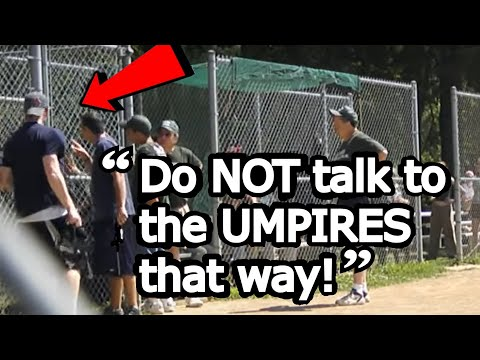 SKIP TO 6:25! Little League Baseball Mom Freaks Out After Son is Denied Home Run! READ DESCRIPTION!
