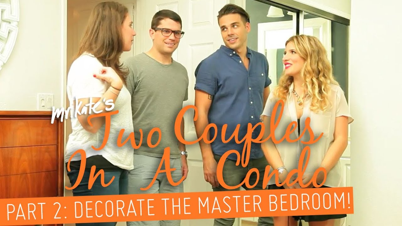 Couple Moves In! Part 2: Decorate The Master Bedroom!