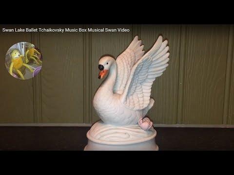 Swan Lake Ballet Tchaikovsky Music Box Musical Swan Video