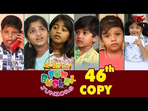 Fun Bucket JUNIORS  Episode 46  Kids Funny s  Comedy Web Series   Sai Teja  TeluguOne