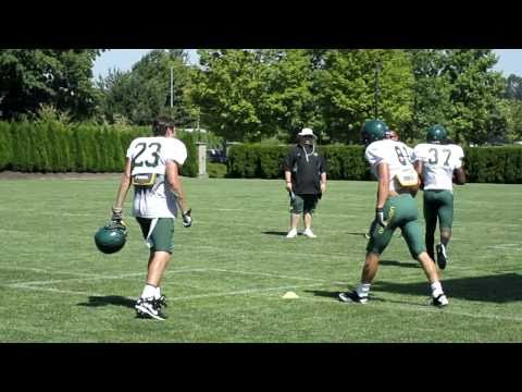 Oregon 2010 Fall Practice - Justin Hoffman