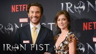 Tom Pelphrey & Jessica Stroup on Marvel's Iron Fist