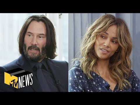 Keanu Reeves & Halle Berry On Making 'John Wick: Chapter 3 - Parabellum' | MTV News