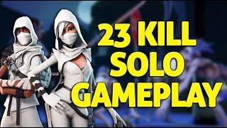 23 Kill Solo Gameplay - Fortnite Gameplay - Ninja