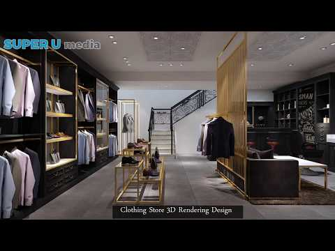 Retail Wholesale Clothing Store Display Stand Showcase Furniture For Sale