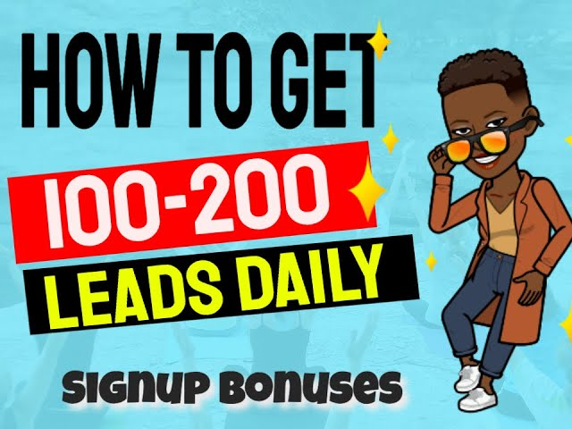 My Lead Gen Secret - 100 - 200 Leads Daily! Download Your Free Bonuses! ( $500 in Value)