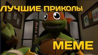 Лучшие приколы черепашки ниндзя 😂 | meme