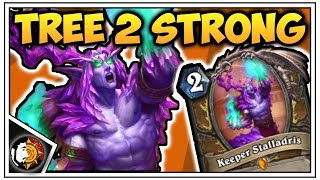 Hearthstone: Legend Lucentbark Druid Killing Spree Continued - Rise Of Shadows