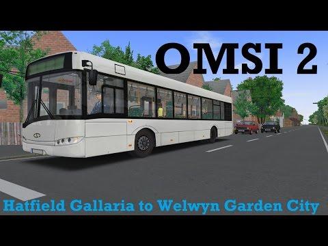 OMSI 2 - Hatfield Gallaria to Welwyn Garden City - Hertfordshire V3