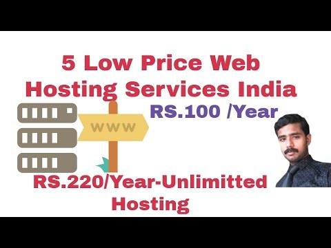 low cost web hosting | 5 cheap webhosting India