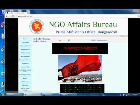 www.ngoab.gov.bd Hacked by Kosova Hackers Crew