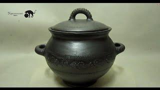 Купить керамическую кастрюлю(Братина №1 Подробнее: http://ceramiccat.ru.com/tovar/bratin... Материал: чернолощёная керамика Высота: 18см. Объём: 1.2л. Вы помн..., 2016-02-08T12:27:25.000Z)