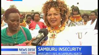 Women take to the streets over insecurity in Samburu North