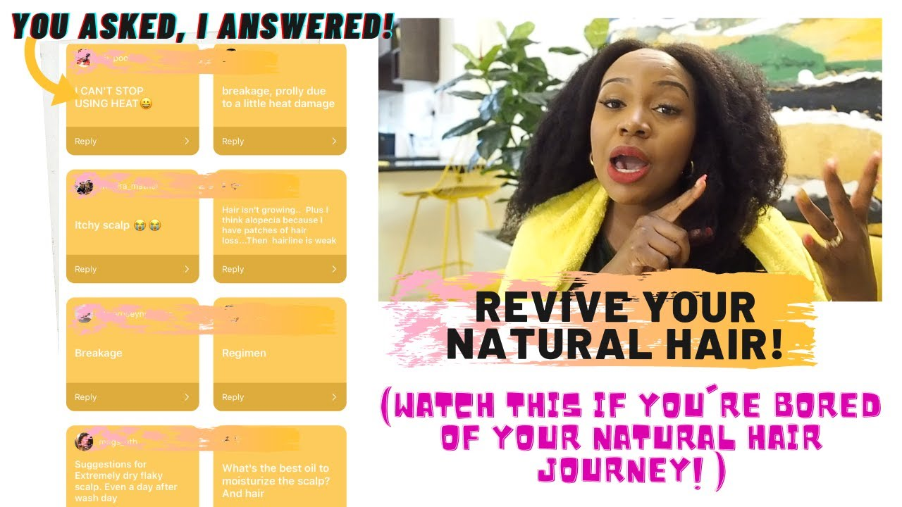 IS THIS WHY YOUR NATURAL HAIR JOURNEY IS SO HARD? DETANGLE & CHAT WITH ME!