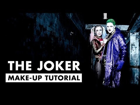 The Joker Tutorial ★ Jared Leto Suicide Squad ★ Halloween Hair and Make-up for men