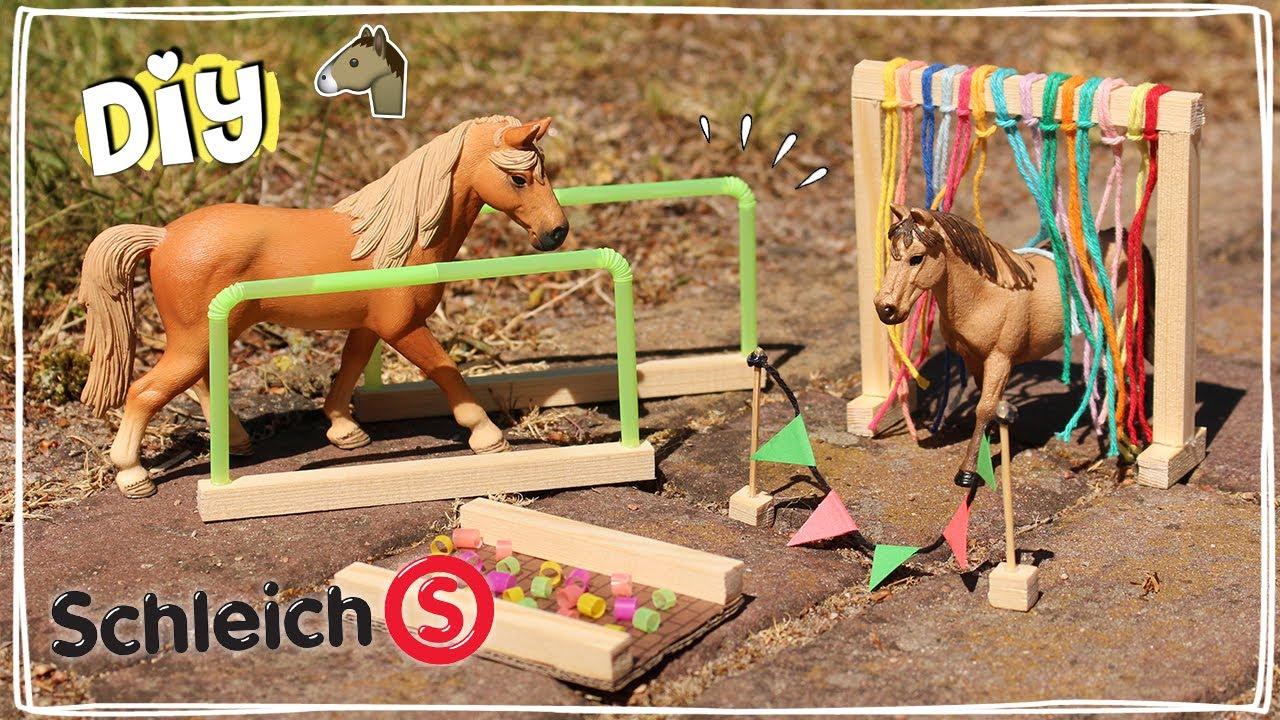 Super HORSE AGILITY voor SCHLEICH PAARDEN maken! - Tutorial | Daphne CG-38