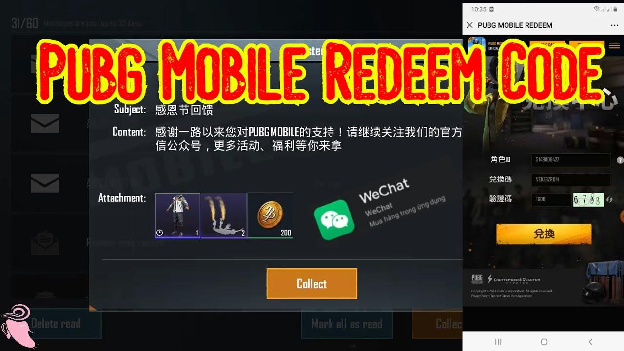 Pubg mobile new trick | Get Redeem Code Pubg Mobile | Pubg ...
