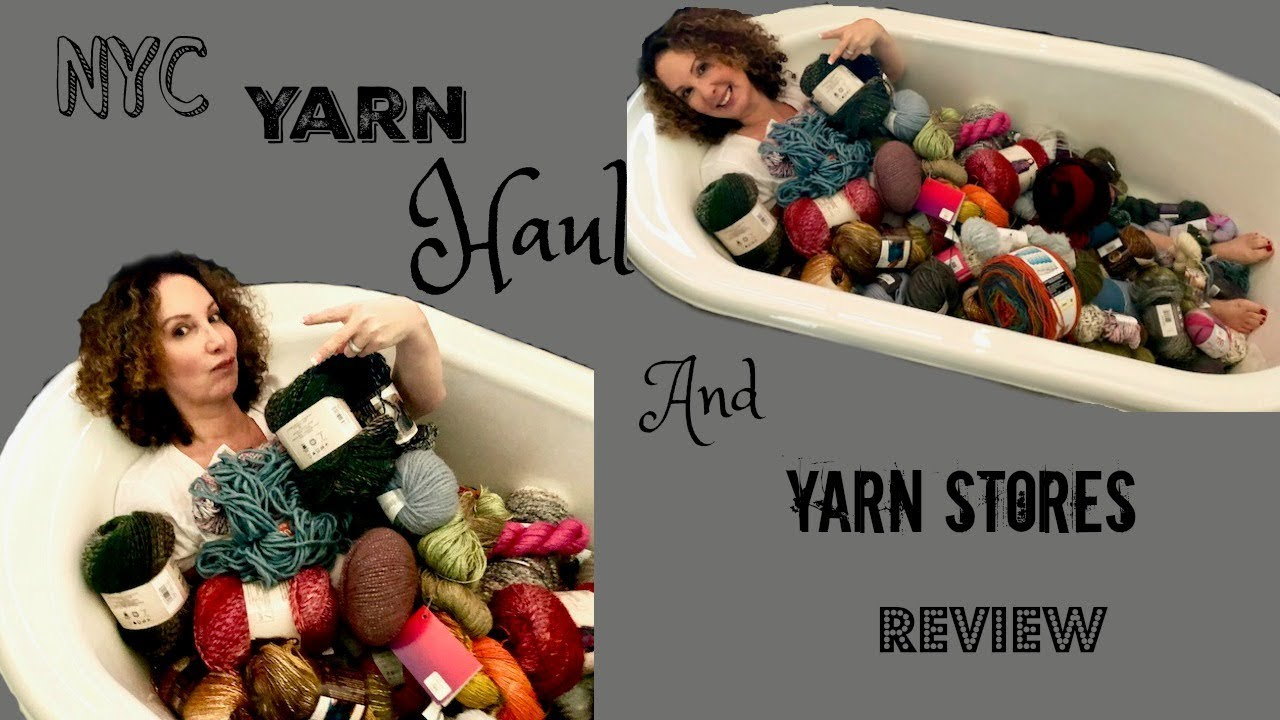 Knitting Stores Nyc : Nyc yarn haul and my favorite stores youtube